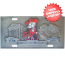 Mississippi (Ole Miss) Rebels License Plate 3D