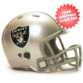 Helmets, Pocket Pro Helmets: Oakland Raiders Riddell Revolution Pocket Pro
