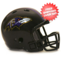 Helmets, Pocket Pro Helmets: Baltimore Ravens Riddell Revolution Pocket Pro