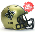 Helmets, Pocket Pro Helmets: New Orleans Saints Riddell Revolution Pocket Pro