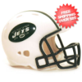 Helmets, Pocket Pro Helmets: New York Jets Riddell Revolution Pocket Pro