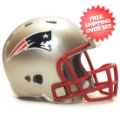 Helmets, Pocket Pro Helmets: New England Patriots Riddell Revolution Pocket Pro