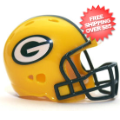 Helmets, Pocket Pro Helmets: Green Bay Packers Riddell Revolution Pocket Pro