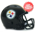 Helmets, Pocket Pro Helmets: Pittsburgh Steelers Riddell Revolution Pocket Pro
