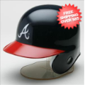 Helmets, Mini Helmets: Atlanta Braves MLB Mini Batters Helmet <B>Discontinued</B>