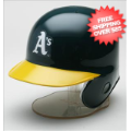 Helmets, Mini Helmets: Oakland Athletics MLB Mini Batters Helmet <B>Discontinued</B>