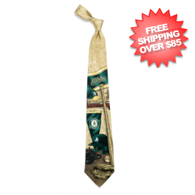 Oakland Athletics Necktie
