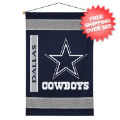 Home Accessories, Bed and Bath: Dallas Cowboys Wall Hanging Sideline