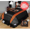 Home Accessories, Bed and Bath: Cincinnati Bengals Bed Sets Sideline Twin