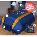 Home Accessories, Bed and Bath: West Virginia Mountaineers Bedding Sets Sideline Full