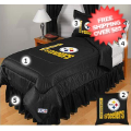 Home Accessories, Bed and Bath: Pittsburgh Steelers Bedding Set Full