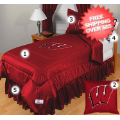 Home Accessories, Bed and Bath: Wisconsin Badgers Bedding Set Full