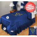 Home Accessories, Bed and Bath: West Virginia Mountaineers Bedroom Set Queen