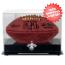 New Orleans Saints Blackbase Football Display Case