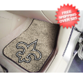 Car Accessories, Detailing: New Orleans Saints Car Mats 2 Piece