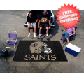 Tailgating, Party: New Orleans Saints Team Floor Mat