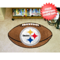 Home Accessories, Game Room: Pittsburgh Steelers Football Floor Mat