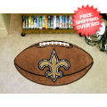 Home Accessories, Game Room: New Orleans Saints Football Floor Mat