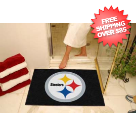 Pittsburgh Steelers Shower Rug