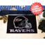 Baltimore Ravens Bedroom Floor Mat