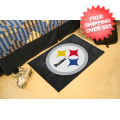 Home Accessories, Bed and Bath: Pittsburgh Steelers Bedroom Floor Mat