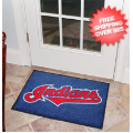 Home Accessories, Bed and Bath: Cleveland Indians Bedroom Floor Mat