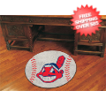Home Accessories, Game Room: Cleveland Indians Baseball Floor Mat