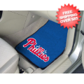 Car Accessories, Detailing: Philadelphia Phillies Car Mats 2 Piece