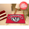 Home Accessories, Bed and Bath: Wisconsin Badgers Shower Rug