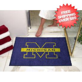 Michigan Wolverines Shower Rug