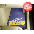 Car Accessories, Detailing: Toledo Rockets Car Mats 2 Piece