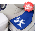 Car Accessories, Detailing: Kentucky Wildcats Car Mats 2 Piece (UK)