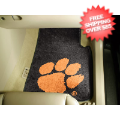 Car Accessories, Detailing: Clemson Tigers Car Mats 2 Piece
