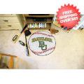 Home Accessories, Game Room: Baylor Bears Baseball Floor Mat