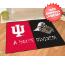 Indiana Hoosiers/Purdue Boilermakers Floor Mat