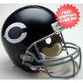 Helmets, Full Size Helmet: Chicago Bears 1962 to 1973 Full Size Replica Throwback Helmet