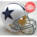 Helmets, Full Size Helmet: Dallas Cowboys 1960 to 1963 Full Size Replica Throwback Helmet