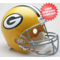 Helmets, Full Size Helmet: Green Bay Packers 1961 to 1979 Full Size Replica Throwback Helmet