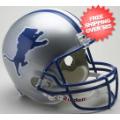 Helmets, Full Size Helmet: Detroit Lions 1983 to 2002 Full Size Replica Throwback Helmet