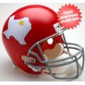Helmets, Full Size Helmet: Dallas Texans 1960 to 1962 Full Size Replica Throwback Helmet Football Helm...