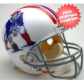 Helmets, Full Size Helmet: New England Patriots 1965 to 1981 Full Size Replica Throwback Helmet