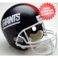 Helmets, Full Size Helmet: New York Giants 1981 to 1999 Full Size Replica Throwback Helmet