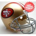 Helmets, Full Size Helmet: San Francisco 49ers 1964 to 1995 Full Size Replica Throwback Helmet