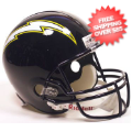 Helmets, Full Size Helmet: San Diego Chargers 1988 to 2006 Full Size Replica Throwback Helmet