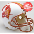 Helmets, Full Size Helmet: Tampa Bay Buccaneers 1976 to 1996 Full Size Replica Throwback Helmet