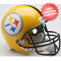 Helmets, Full Size Helmet: Pittsburgh Steelers 1962 Full Size Replica Throwback Helmet 75th Anniversar...