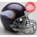 Helmets, Full Size Helmet: Minnesota Vikings 1961 to 1979 Football Helmet