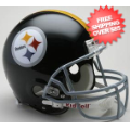 Helmets, Full Size Helmet: Pittsburgh Steelers 1963 to 1976 Football Helmet