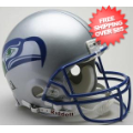 Helmets, Full Size Helmet: Seattle Seahawks 1983 to 2001 Football Helmet