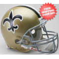 Helmets, Full Size Helmet: New Orleans Saints 1967 to 1975 Football Helmet